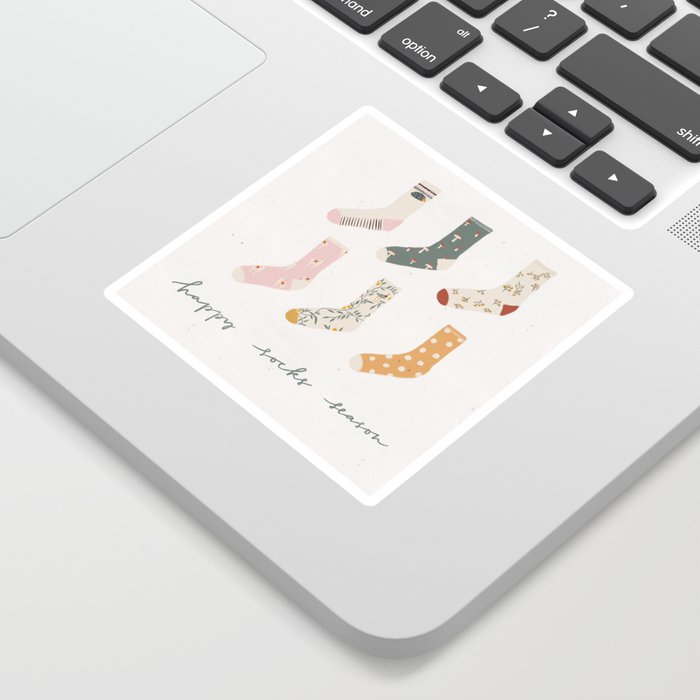 Socks season Sticker