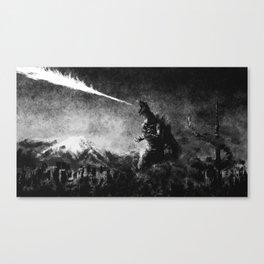 Atomic Breath! Canvas Print