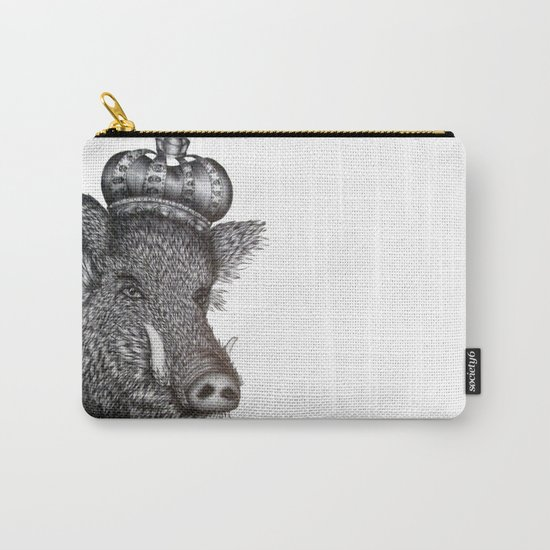 The Boar King Carry-All Pouch