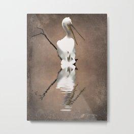 Pelican Perch 2 Metal Print