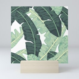 BANANA LEAVES 2 Mini Art Print