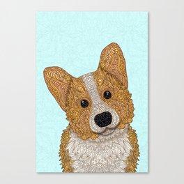 Cute Corgi Canvas Print