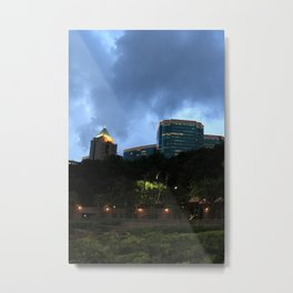 Hong Kong Metal Print