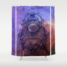 Apex-XIII: Mission II Shower Curtain