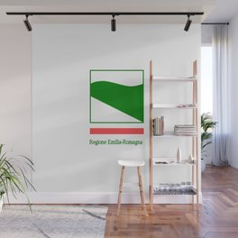 flag of Emilia romagna Wall Mural