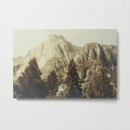 Mountains so high Metal Print