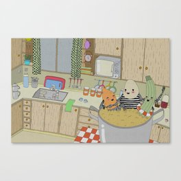 Vegetable Soup Canvas Print