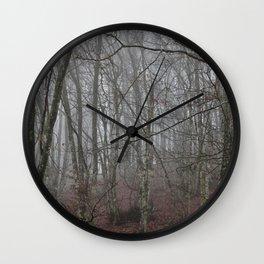 Dark forest. Wall Clock