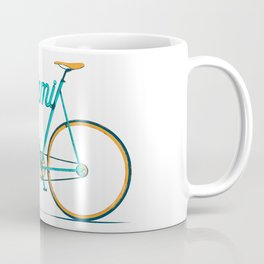 Miami Typo - Bike Coffee Mug