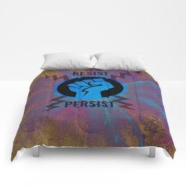 Resist Persist Comforters