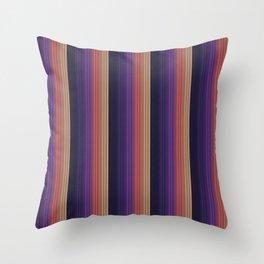 Colorful Stripe pattern Throw Pillow