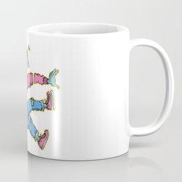 OPEN MINDED: LASER SPACER Coffee Mug
