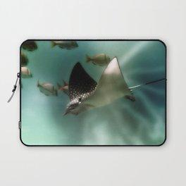 Majestic Flight of the Stingray Laptop Sleeve
