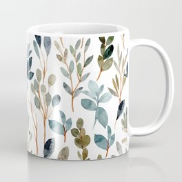 Watercolor autumn leaves Coffee Mug