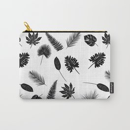 Botanical study - Fern Leaves pattern Carry-All Pouch