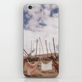 clothes-pegged  iPhone Skin