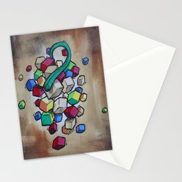 Cubist Grapes Stationery Cards