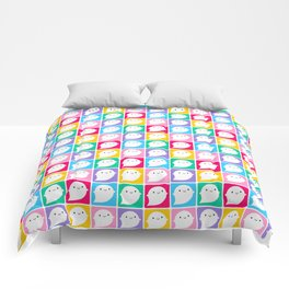 Colourful Little Ghosts Comforters
