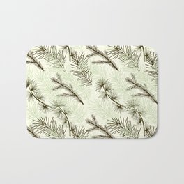 Christmas tree pattern. Bath Mat