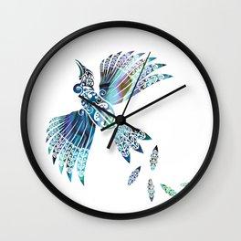 Tui Paua Wall Clock