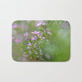 itty-bitty purple Bath Mat