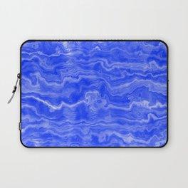 Egyptian Marble, Lapis Blue Laptop Sleeve