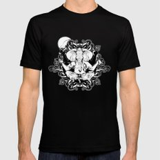 GANESH Black Mens Fitted Tee X-LARGE