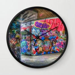Graffiti Walls Wall Clock