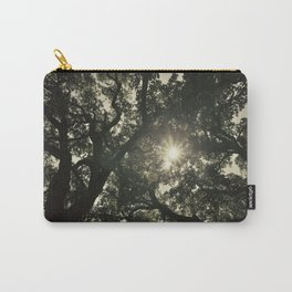 Sun through the big forest Carry-All Pouch