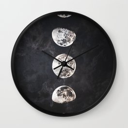 Mistery Moon Wall Clock