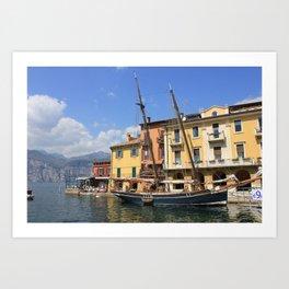 Lake Garda Italy  Art Print