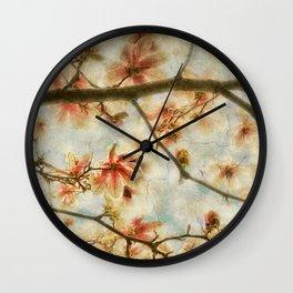 Magnolia Skys Wall Clock