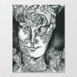 Fungal Demon Princess  Canvas Print