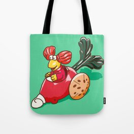 Fraggle Rock 1987 Happy Meal Toy Red Raddish Tote Bag