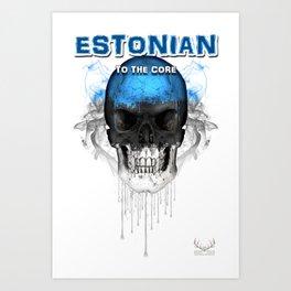 To The Core Collection: Estonia Art Print
