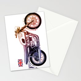 1970 Triumph Bonneville Drawing Stationery Cards