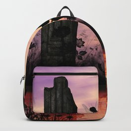 Cute fairy with foal Backpack