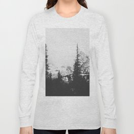Forest under the Mountain Long Sleeve T-shirt