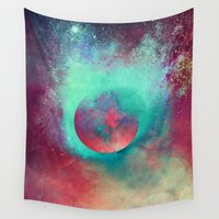 glass Wall Tapestries featuring α Aurigae by Nireth