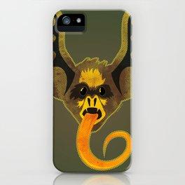 Bat Tongue iPhone Case