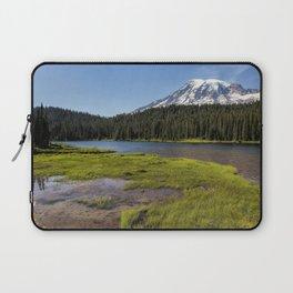 Mt Rainier from Reflection Lake, No. 2 Laptop Sleeve