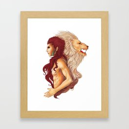 Inner Courage Framed Art Print