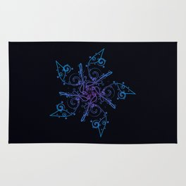 Snowflake Star Rug