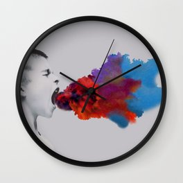 Creative Outburst Wall Clock