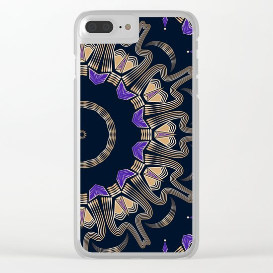 Art Deco. No. 3 Clear iPhone Case
