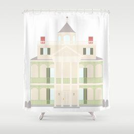 Happy Hauntings Shower Curtain