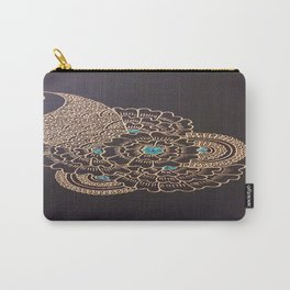 Turquoise Jewel Carry-All Pouch