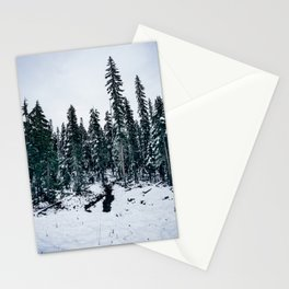 Dusting of Snow Stationery Cards