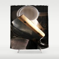 baking Shower Curtains featuring Baking by SEB Market