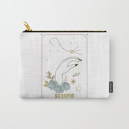 Scorpio Zodiac Series Carry-All Pouch
